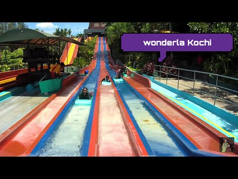 Wonderla Amusement Park Kochi ||  All Attractions in  7 Minutes || HD