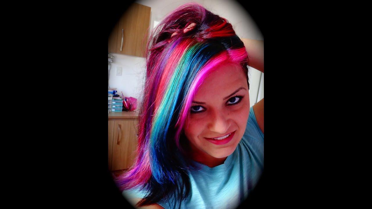 Rainbow Color For Hair