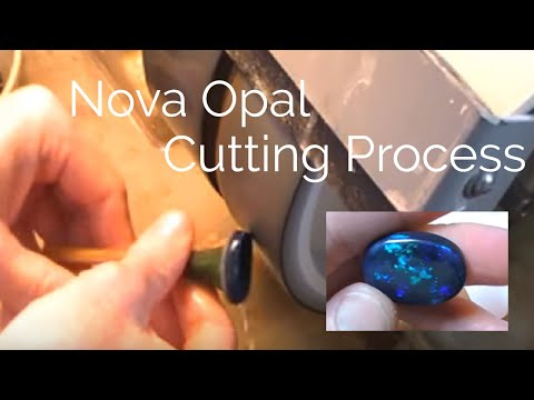 Nova Opal Cutting Process for lapidary