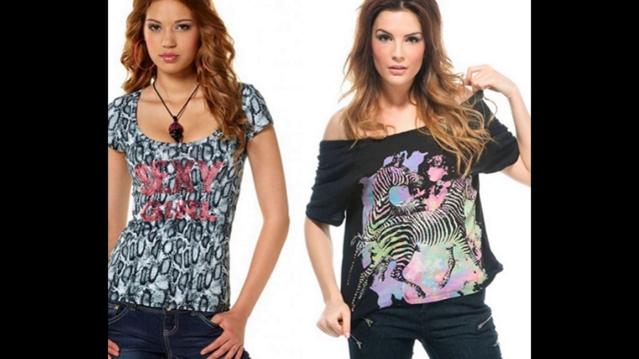 a4fc285a2541 Модные футболки для женщин 2017