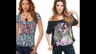 видео модные футболки