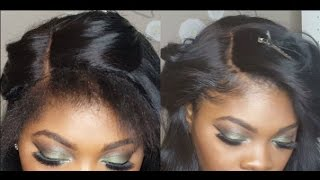 How to BLEND THIN EDGES with a lace CLOSURE