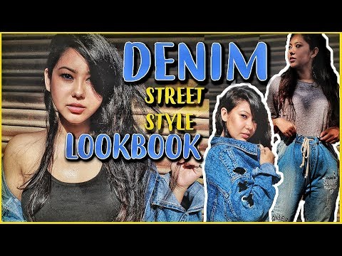STREETSTYLE: Denim Lookbook | ThatQuirkyMiss