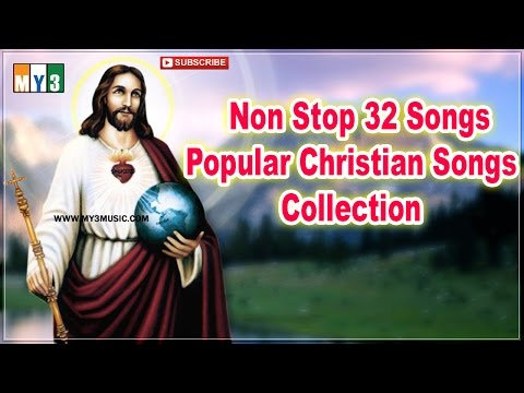 Non Stop 32 Popular Telugu Christian Songs Collection - Top Jesus Hit Songs 2016