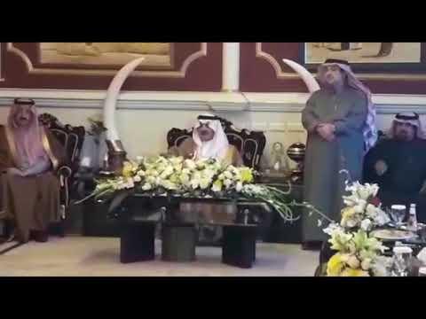 استقبال عائلة الخرس الأمير سعود بن نايف والأمير بدر بن جلوي حفظهم الله