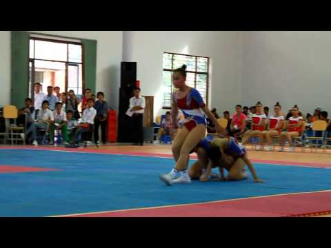 HKPD 2012 - Aerobic - Chung ket tu chon nhom 3 nguoi - Can Tho