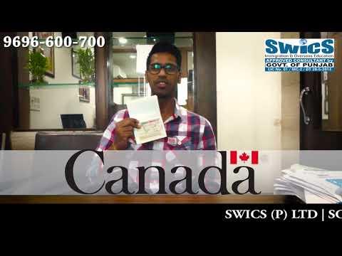 Congratulation to Ashish Garg for Canada PR - SWICS (P) LTD