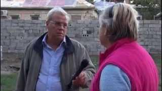 Christian Wehrschütz in Lugansk:Die Situation der Ausgebomten,russische Hilfe und steigende Preise