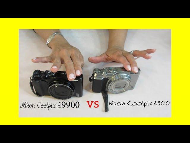 Nikon Coolpix S9900 Versus Nikon Coolpix A900