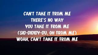Major Lazer- Cant Take It From Me (Lyrics)(feat. Skip Marley)