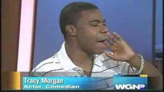 failzoom.com - Tracy Morgan appears on WGN in an, um, intereresting state