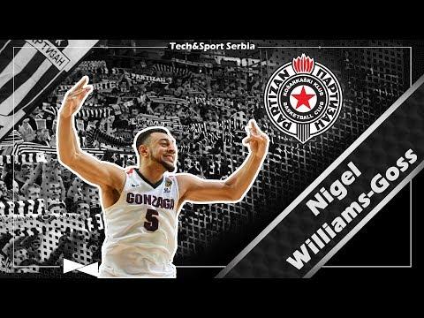 Nigel Williams-Goss - Analiza igre   KK Partizan 2017/18