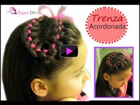 Peinados Infantiles Con Ligas Y Cintas Paso A Paso Imagui