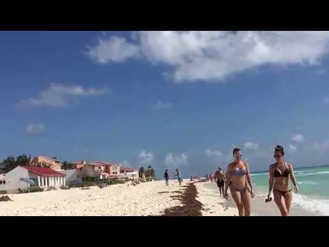 Playa Del Carmen Beach walk