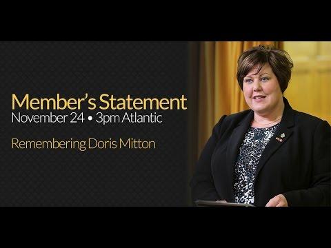 SO31: Remembering Doris Mitton