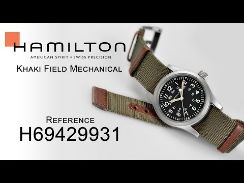 Hamilton Khaki Field Mechanical H69429931 - Is it the Best Mechanical Field Watch?