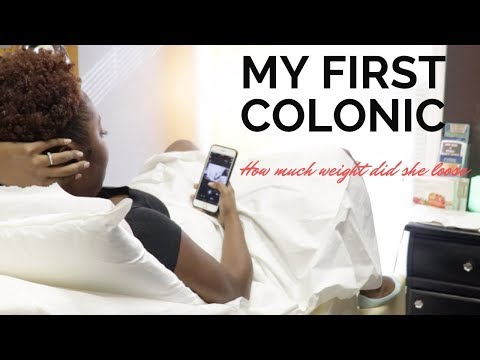 I lost 6 lbs in one Hour | colonic hydrotherapy session | Colonics Before and after