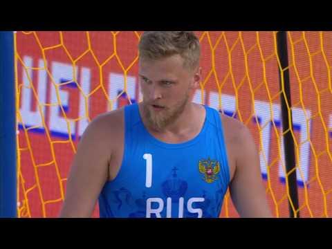 Лучшие моменты матча Оман - Россия пляжного Чемпионата мира в Казани