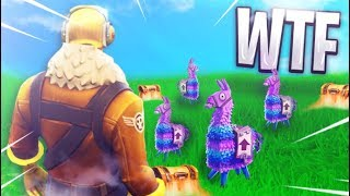 4 LLAMAS *FOUND* in CRAZY NEW BLITZ MODE - Fortnite: Battle Royale