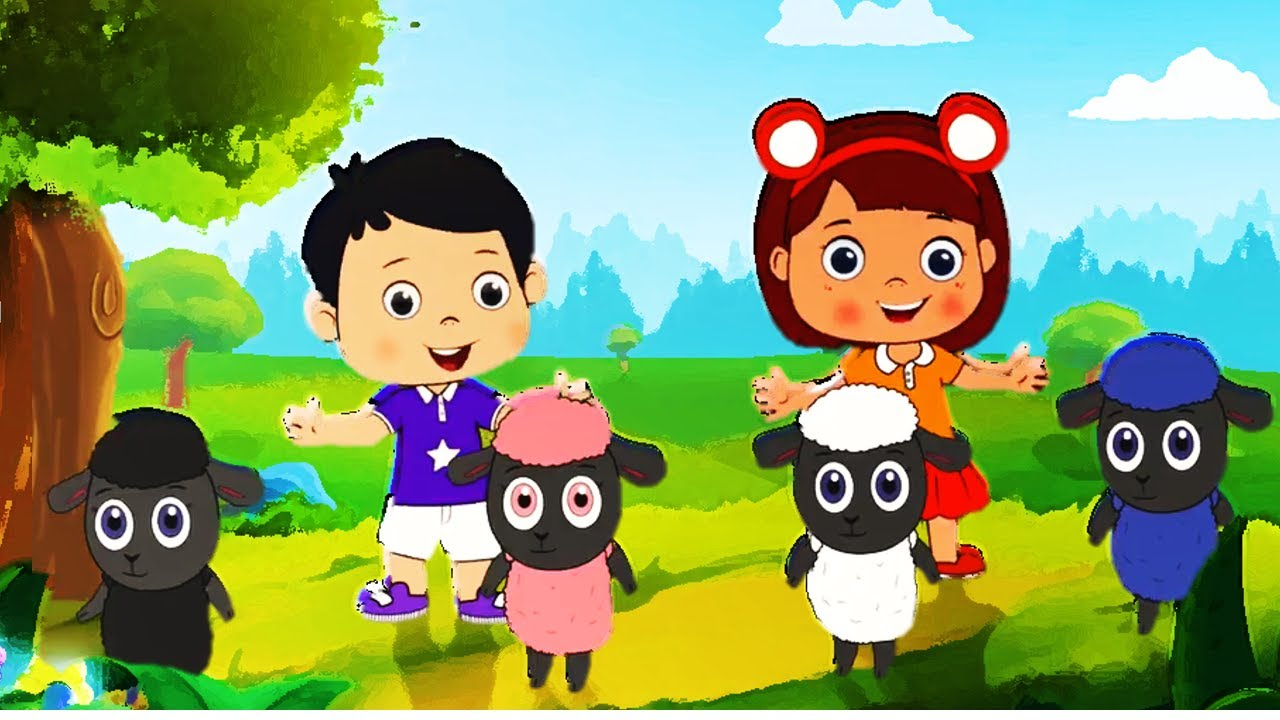 Baa Baa Black Sheep I Nursery Rhymes I Kids Songs | Songs for Kids | Simple Cartoon Songs