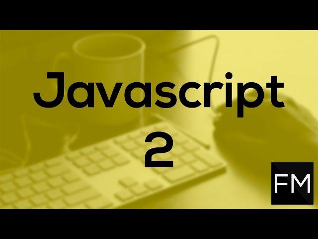 Curso Básico de Javascript 2.- Variables