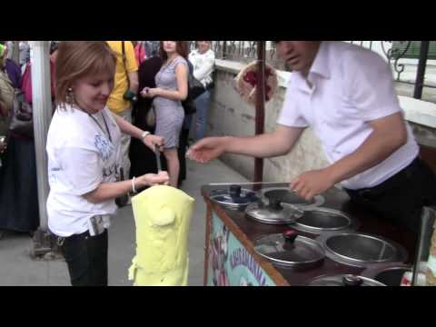 Funny Istanbul Ice Cream Man