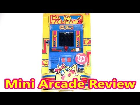 Ms. Pac-Man Mini Arcade Review (Basic Fun Static Screen Version) The No Swear Gamer