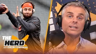 Colin predicts AFC division standings and which teams will make the playoffs | NFL | THE HERD