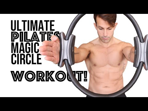 Pilates Magic Circle Workout | 30 minutes of classical exercises with the Pilates ring of fire!