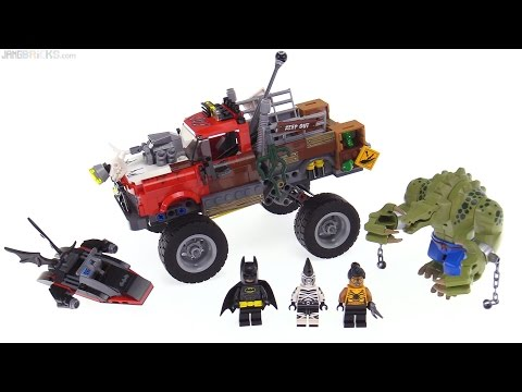 LEGO Batman Movie Killer Croc Tail-Gator review! 70907