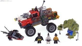 LEGO Batman Movie Killer Croc Tail-Gator review! 70907