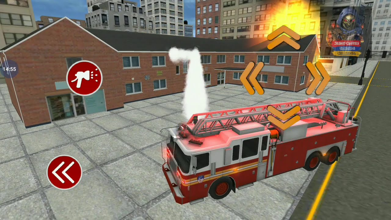 Real Fire Truck Driving Simulator: Fire Fighting - Android gameplay #2