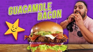 CARL'S JR vs HECHA EN CASA (Guacamole Bacon Burger) | EL GUZII