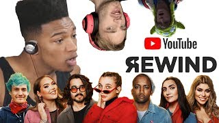 ETIKA REACTS TO #YOUTUBEREWIND 2018 & THE REAL YOUTUBE REWIND