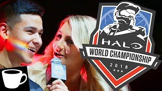 VLOG | HALO WORLD CHAMPIONSHIP 2018 w/ Greenskull, Wardog, ChiefCanuck, GrimBrother1, & HiddenXperia