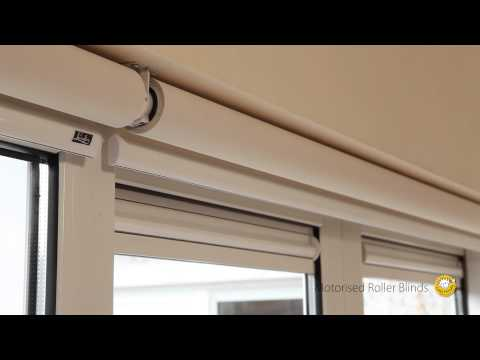 Luxaflex Motorised Roller Blind: Installation & Programming