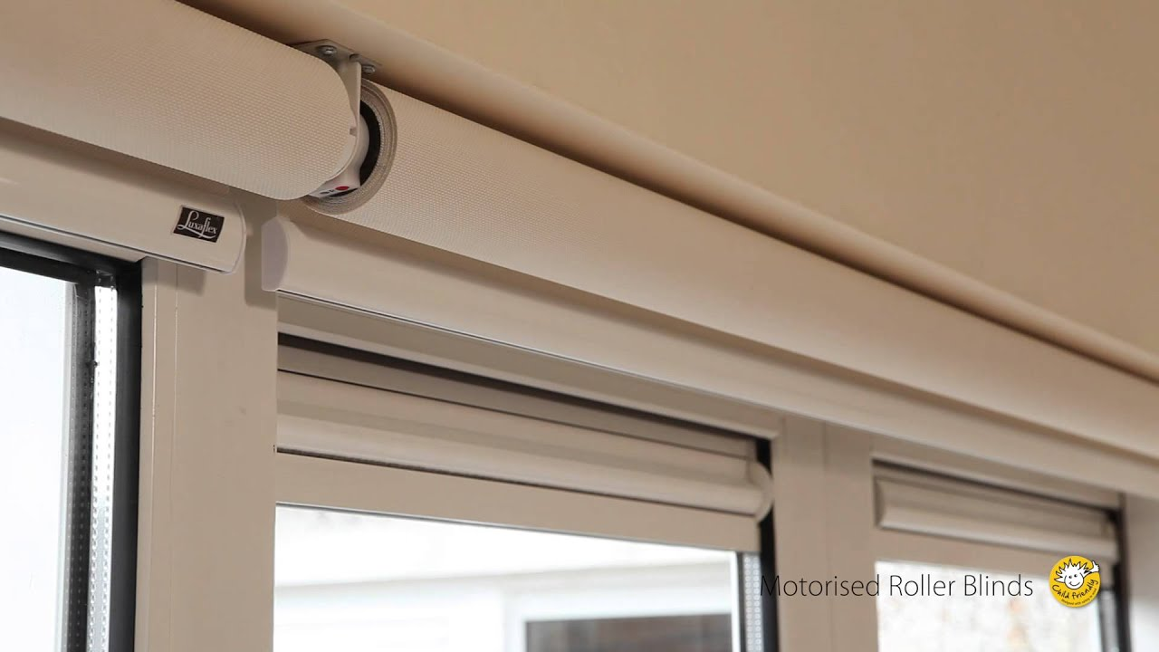 Luxaflex motorised roller blind installation for How to install motorized blinds