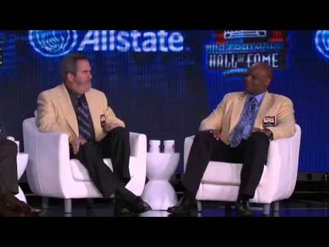 NFL Hall of Fame Announcement 2012 Class
