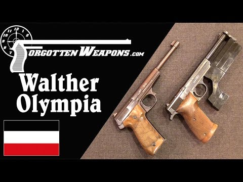 Walther Olympia: Germany's Interwar Target Pistol