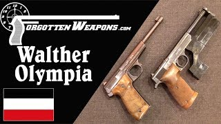 Walther Olympia: Germany's Interwar Target Pistol