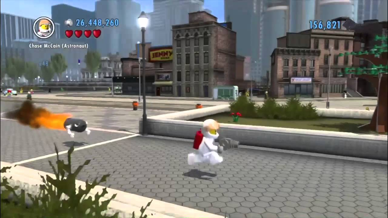 LEGO City Undercover - Bullet Bill Location - YouTube