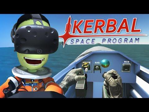 Kerbal Space Program - Virtual Fighter - Htc Vive