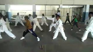 Montfort Academy Sports day, Karate practice