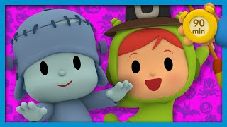 ☠ POCOYO AND NINA - Halloween costumes [90 minutes] | ANIMATED CARTOON for Children | FULL episodes