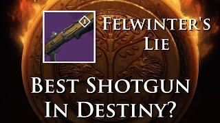 Destiny - Iron Banner Weapons - Felwinter's Lie, Better than Found Verdict?