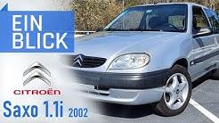 Citroën Saxo 1.1i Chrono 2002 - Charmanter kleiner Franzose oder Seifenkiste?