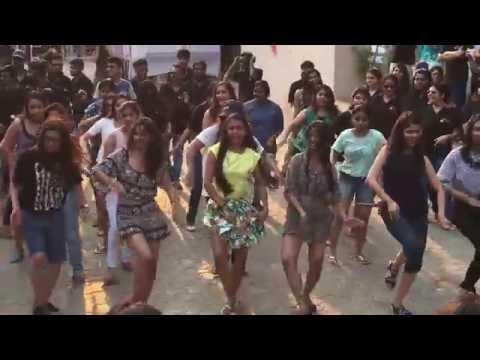Flash Mob of the 4th years, the Organizers of Karvaan 2k16... KIIT School of Law