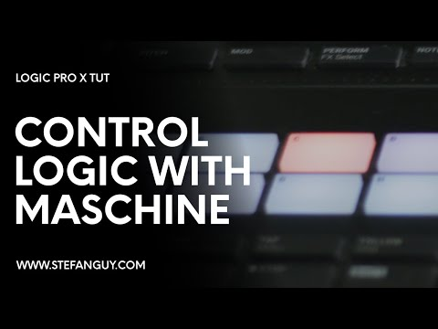 Using Maschine MK3 Transport Buttons  Pads in Logic Pro X