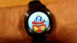 Samsung Gear Sport - My Top 5 Games for the smartwatch inc. Fruit Slice