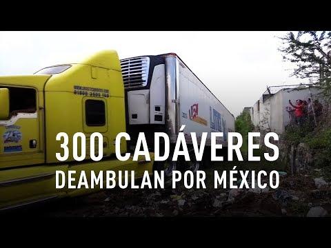 'Morgues móviles' deambulan por México con unos 300 cadáveres
